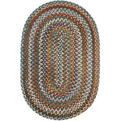 Handmade Area Rug Rug Size: Oval 4 x 6