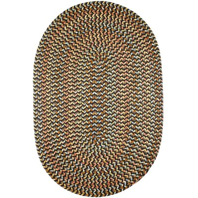 Handmade Indoor/Outdoor Area Rug Rug Size: Oval 3' x 5'