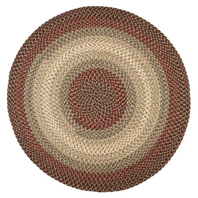 Handmade Indoor/Outdoor Area Rug Rug Size: Round 6'