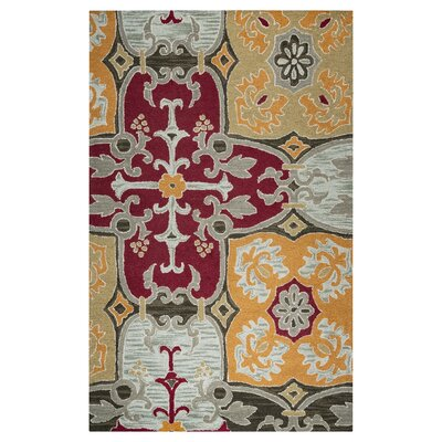 Hand-Tufted Area Rug Rug Size: Runner 26 x 8