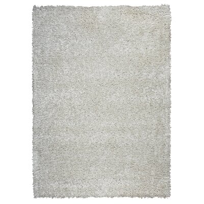 Kiera Hand-Tufted Ivory Area Rug Rug Size: Rectangle 5 x 7