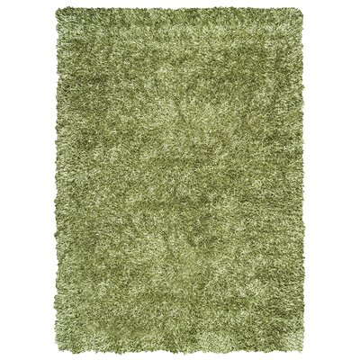 Kempton Handmade Lime Area Rug Rug Size: Rectangle 5 x 7