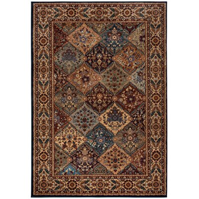 Bellevue Brown Area Rug Rug Size: 53 x 77