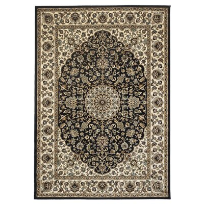 Blue Area Rug Rug Size: Rectangle 33 x 53