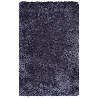 Hand-Tufted Charcoal Area Rug Rug Size: 8 x 10
