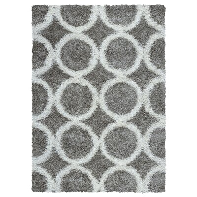 Kempton Handmade Black/Gray Area Rug Rug Size: Rectangle 5 x 7