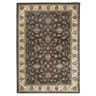 Brown Area Rug Rug Size: 6'7