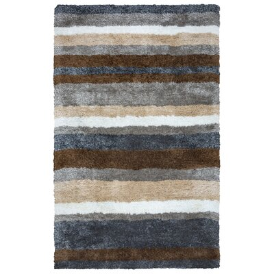 Doylestown Hand-Tufted Gray Area Rug Rug Size: Rectangle 8 x 10
