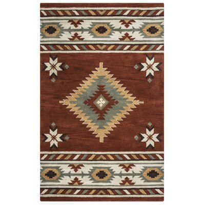Owen Hand woven/Tufted Wool Area Rug Rug Size: Rectangle 5 x 8
