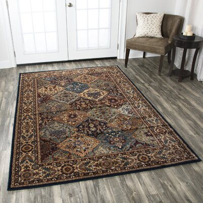 Bellevue Brown Area Rug Rug Size: 910 x 1210
