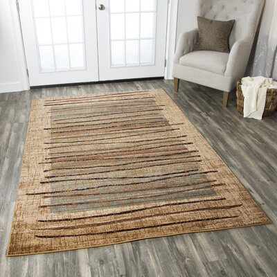Beige Area Rug Rug Size: Rectangle 710 x 1010