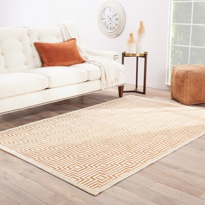 Minerva Orange Area Rug