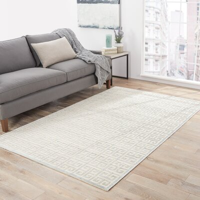 Brown Area Rug Rug Size: 6 X 6