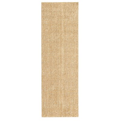 Branchdale Hand-Woven Beige Area Rug Rug Size: Runner 26 x 8