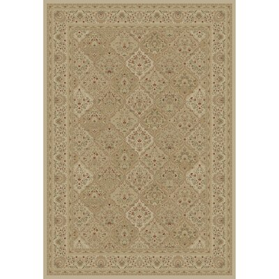 Mantra Ivory Oriental Rectangular Rug Rug Size: Rectangle 89 x 123
