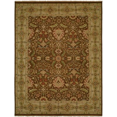 Dumka Hand-Knotted Fall Sienna Area Rug Rug Size: 4 x 6