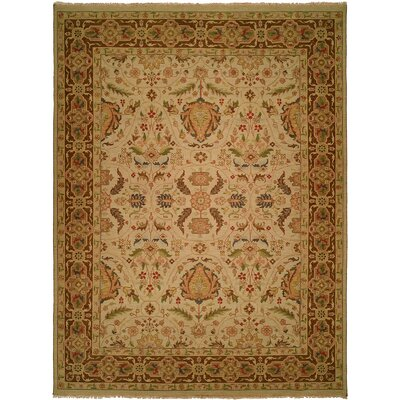 Dumka Hand-Knotted Spring Sienna Area Rug Rug Size: Rectangle 4 x 6