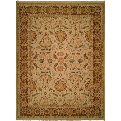 Dumka Hand-Knotted Spring Sienna Area Rug Rug Size: Runner 26 x 12