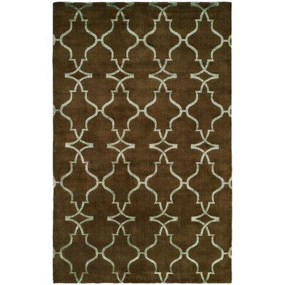 Farooqnagar Handmade Java Brown Area Rug Rug Size: 6 x 9