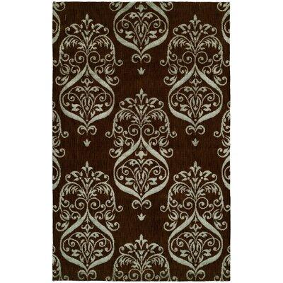 Dumraon Handmade Brown Area Rug Rug Size: 8 x 10