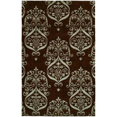 Dumraon Handmade Brown Area Rug Rug Size: 4 x 6