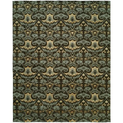 Dumraon Handmade Smokey Brown Area Rug Rug Size: Rectangle 6 x 9