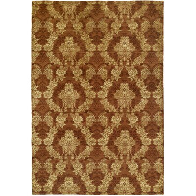 Dumraon Handmade Autumn Spice Area Rug Rug Size: Rectangle 6 x 9