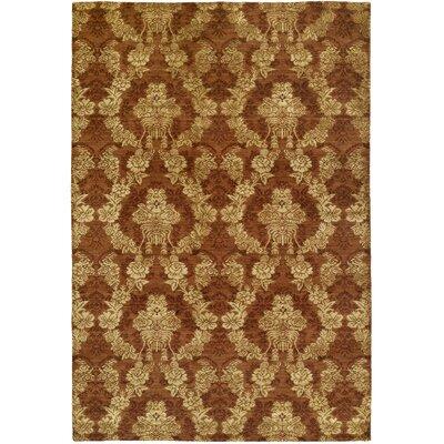 Dumraon Handmade Autumn Spice Area Rug Rug Size: 6 x 9