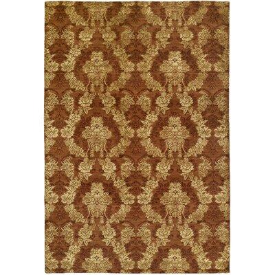 Dumraon Handmade Autumn Spice Area Rug Rug Size: 9 x 12