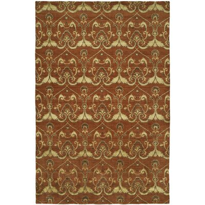 Dumraon Handmade Terra Cotta Area Rug Rug Size: Rectangle 9 x 12