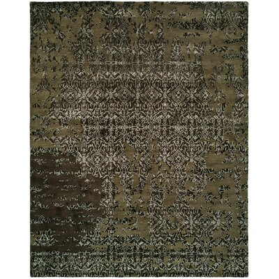 Dhuri Hand-Tufted Coffee Area Rug Rug Size: 36 x 56