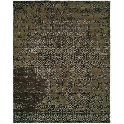 Dhuri Hand-Tufted Coffee Area Rug Rug Size: 9 x 12