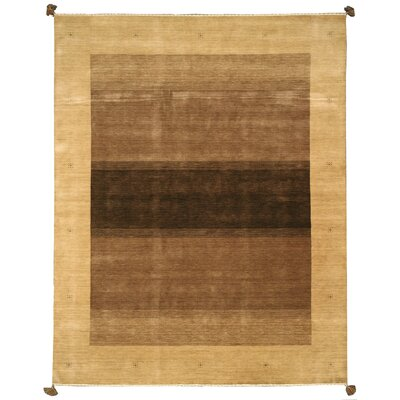 Kendujhar Hand-Woven Brown Area Rug