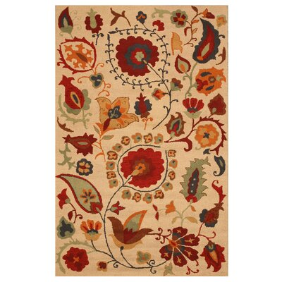 Khambhat Hand-Tufted Area Rug
