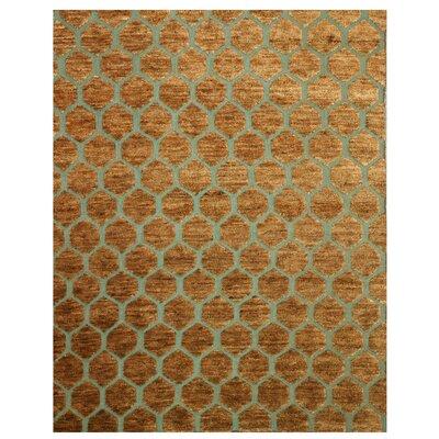 Kot Kapura Hand-Woven Brown Area Rug