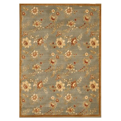 Kothagudem Hand-Woven Blue/Mocha Area Rug Rug Size: Rectangle 710 x 112