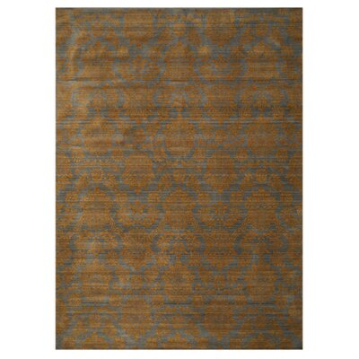 Kottayam Hand-Woven Brown Area Rug Rug Size: Rectangle 710 x 112