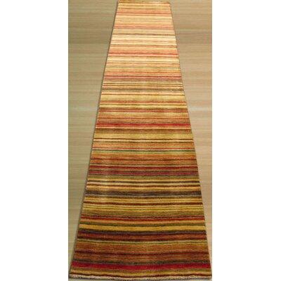 Kovvur Hand-Woven Red Area Rug Rug Size: Runner 26 x 8