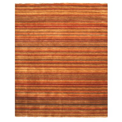 Kovvur Hand-Woven Red Area Rug Rug Size: Rectangle 10 x 14