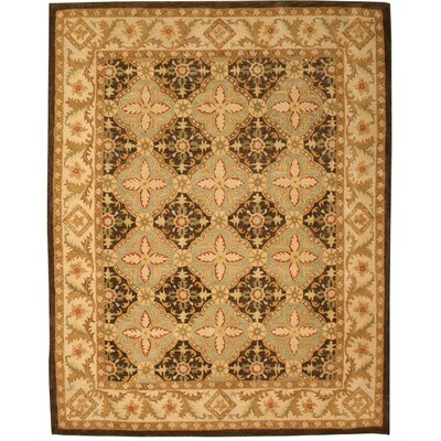 Kyathampalle Hand-Tufted Brown Area Rug Rug Size: 89 x 119