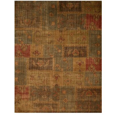 Ladwa Hand-Knotted Area Rug Rug Size: 6 x 9