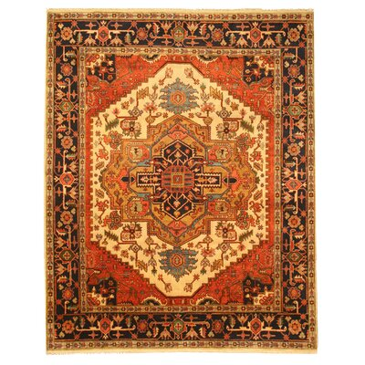 Lalganj Hand-Knotted Area Rug Rug Size: Rectangle 4 x 6