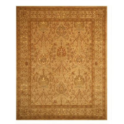 Lathi Hand-Tufted Beige Area Rug Rug Size: Rectangle 4 x 6