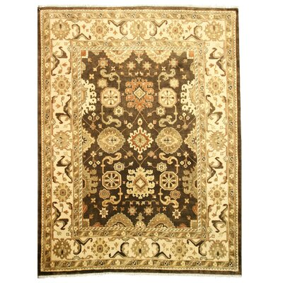 Lonar Hand-Knotted Brown Area Rug