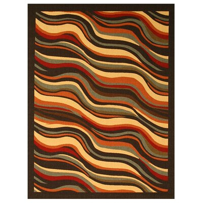 Lumding Black Area Rug