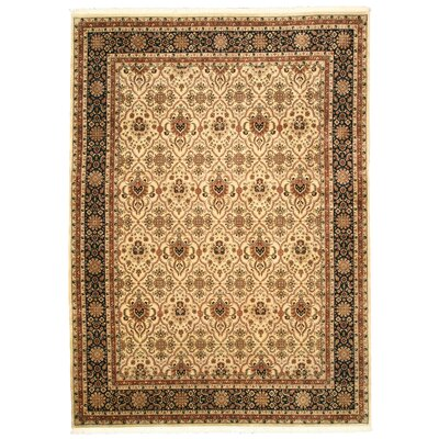 Malda Hand-Knotted Brown Area Rug