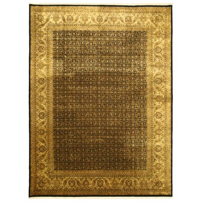 Manawar Hand-Knotted Brown Area Rug