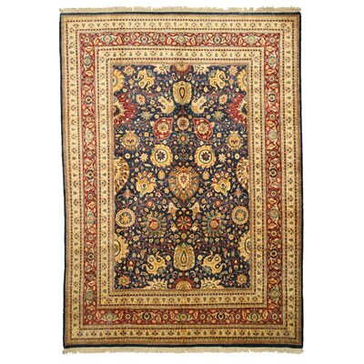 Margao Hand-Knotted Brown Area Rug