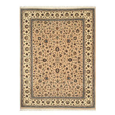Marhaura Hand-Knotted Brown Area Rug