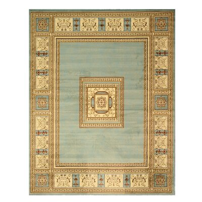 Blue/Beige Area Rug